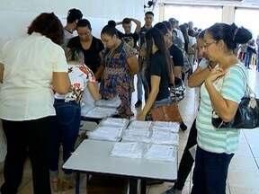 Estudantes passam por biometria facial para receber Passe Social - Cadastramento começou nesta sexta-feira (19), em Presidente Prudente.