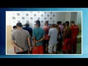 Integrantes de quadrilhas são presos em Tarumirim - Segundo a PC, eles recebiam comando de homem que agia dentro do presídio.