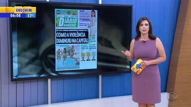 Confira os destaques de publicações do Rio Grande do Sul nesta sexta-feira (26) - Assista ao vídeo.