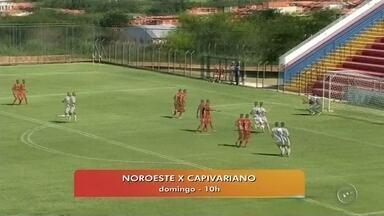Líder Noroeste enfrenta Capivariano neste domingo - O Noroeste, atual líder, enfrenta o Capivariano, que está na terceira colocação, neste domingo (27) às 10h. O jogo acontece no estádio Alfredo de Castilho.