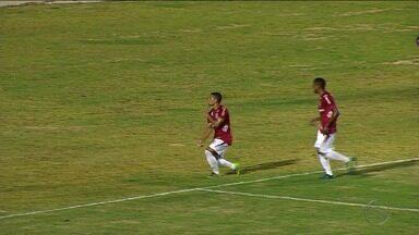 Sergipe goleia Boca por 3 a 0 e se mantém 100% - Colorados são os únicos invictos no Campeonato Sergipano.