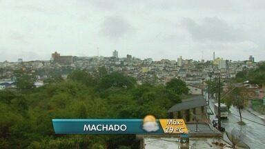 Confira a previsão do tempo para Machado, MG - Confira a previsão do tempo para Machado, MG