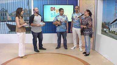 Bloco da Vida mostra samba enredo no quadro Diversão e Arte - Confira também a programação do pré-carnaval da região.