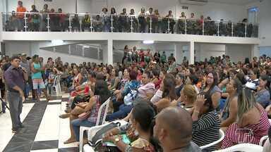 Simprosan reúne servidores da educação para tratar sobre atraso de salários - No encontro também foi discutida a possibilidade de greve da categoria.