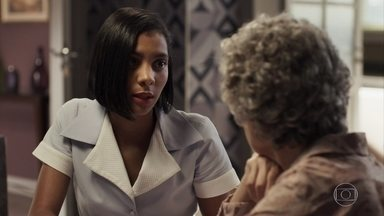 Irene e Adinéia se unem para separar Samuel e Cido - A mãe do psiquiatra quer que ele continue casado com Suzy