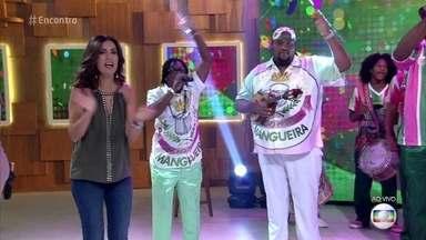 Mangueira apresenta seu samba-enredo de 2018 - 'Com Dinheiro ou Sem Dinheiro, Eu Brinco'