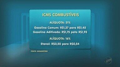 Combustíveis sofrem novo reajuste após governo aumentar ICMS em Minas Gerais - Combustíveis sofrem novo reajuste após governo aumentar ICMS em Minas Gerais