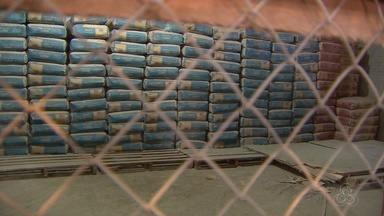 Preço do cimento normaliza em Macapá e saca pode ser encontrada até R$ 30 - Preço do cimento normaliza em Macapá e saca pode ser encontrada até R$ 30