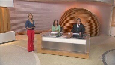 Bom Dia Brasil - Íntegra 05 Fevereiro 2018 - O telejornal, com apresentação de Chico Pinheiro e Ana Paula Araújo, exibe as primeiras notícias do dia no Brasil e no mundo e repercute os fatos mais relevantes.