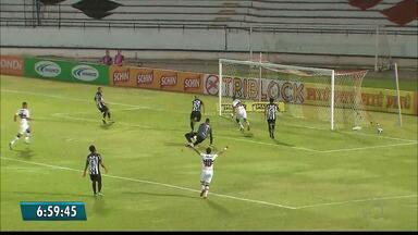 Copa do Nordeste: Treze é goleado pelo Santa Cruz no Arruda - Galo leva de 3 a 0 e permanece na lanterna do Grupo A