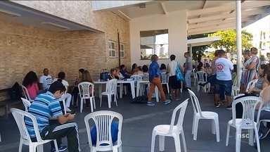 Funcionários do Hospital Florianópolis entram em greve - Funcionários do Hospital Florianópolis entram em greve