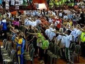 Jogos Regionais do Idoso têm início em Adamantina - Abertura oficial ocorreu nesta quarta-feira (7).