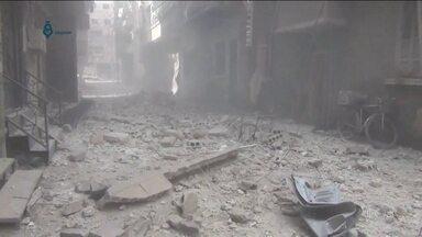 Bombardeios na Síria matam dezenas de crianças - Observatório Sírio para os Direitos Humanos calcula que 110 pessoas morreram, em 24 horas. 31 eram crianças.