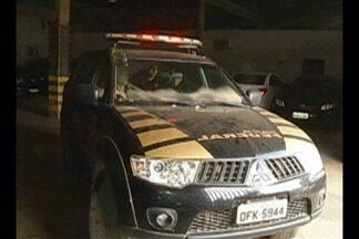 PF prende suspeitos de roubar mercadorias transportadas pelos Correios em Tailândia no PA - Os suspeitos foram presos em operação da Polícia Federal no município.