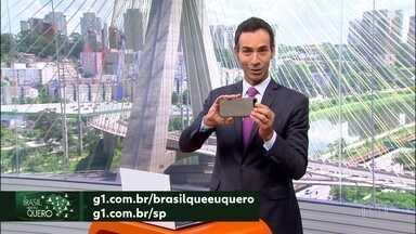 Que Brasil você quer para o futuro? - Participe. Grave um vídeo no seu celular e mande pra gente.