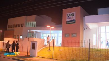 Homem é baleado durante arrastão em ônibus, em Curitiba - O crime foi no bairro Tatuquara. A vítima foi encaminhada em estado grave ao Hospital do Trabalhador.