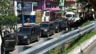 Angra registra primeiras 24 horas sem tiroteio no município - Onda de violência durava 13 dias em diferentes pontos da cidade. O motivo dos conflitos foi a disputa do comando do tráfico de drogas por duas facções rivais.