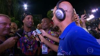 'Eu amo carnaval', diz Ronaldinho Gaúcho - 'Eu amo carnaval', diz Ronaldinho Gaúcho