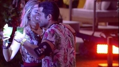 Kaysar e Jéssica dançam juntos na Festa Amazônia - Kaysar e Jéssica dançam juntos na Festa Amazônia