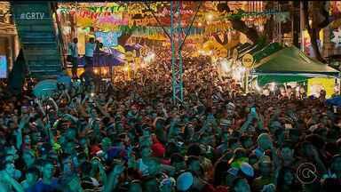 Marco Zero conta com grande festa no encerramento do carnaval de Recife - Grandes atrações se apresentaram