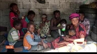 Uma em cada seis crianças no mundo está em zona de guerra, diz ONG - A ONG Save the Children estima que 73 mil crianças foram mortas em conflitos nos últimos 13 anos. Os países que despertam mais preocupação são: Síria, Afeganistão e Somália.