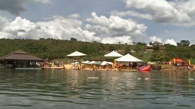 Bombeiros registram sete mortes por afogamento durante o carnaval em Goiás - Número foi maior do que no mesmo período do ano passado.
