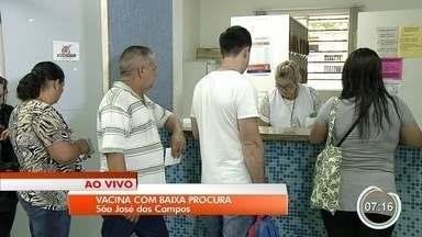 São José convoca moradores para vacinação contra febre amarela - Muita gente ainda precisa se vacinar para que cidade cumpra meta prevista.