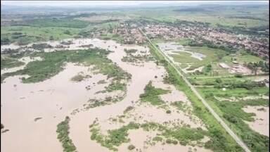No Pará, seis municípios decretam situação de emergência por causa das enchentes - Rios transbordaram e pelo menos 15 mil famílias foram atingidas.