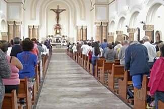 Bispo lança campanha da fraternidade - Tema esse é Fraternidade e Superação da Violência.