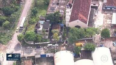 Temporal no Rio deixa três mortos - Um dos mortos é um policial militar.