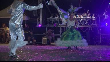 Unidos da Liberdade vence desfile do Carnaval Tradição, em Campina Grande - Resultado foi divulgado ontem.