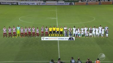 Flu de Feira é eliminado pelo Náutico na Copa do Brasil - Confira as notícias do time do interior.
