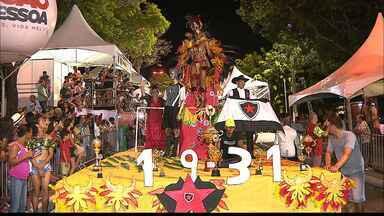 Império do Samba fica em 4° lugar no Carnaval Tradição - Escola de samba homenageou a história do Botafogo-PB no carnaval pessoense