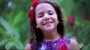 'The Voice Kids' tem representante de Santa Cruz do Capibaribe - Júlia é a única representante do Estado