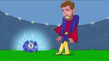 Criptonita azul do Chelsea é a única forma de parar o Super Messi - Jogador nunca conseguiu marcar contra os Blues.