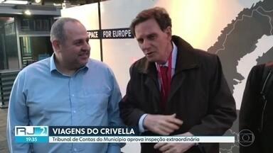 Tribunal de Contas aprova inspeção extraordinária nas viagens de Marcelo Crivella - Prefeitura do Rio vai ter que apresentar todas as informações sobre as viagens internacionais de Marcelo Crivella ao exterior.