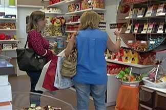Páscoa movimenta comércio em Mogi das Cruzes - Lojas especializadas já estão movimentadas.