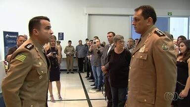 Novos comandantes da PM assumem cargo em Goiás - Coronel Ricardo Mendes é o novo comandante de Policial da Capital.