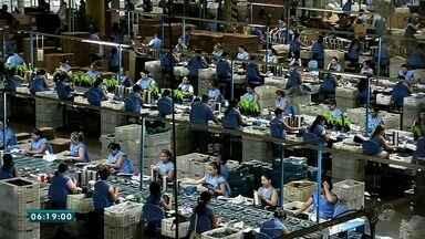 Pólo de Calçados gera empregos e atrai moradores de outras cidades, em Sobral - Saiba mais em g1.com.br/ce