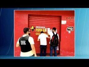 Operação da PC apreende medicamentos vendidos sem receita médica em Governador Valadares - De acordo com as investigações, medicamentos eram vendidos em desacordo com as normas; PC também apreendeu mais de R$ 200 mil em dinheiro.