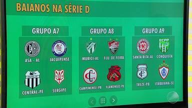 Chaves da série D do Campeonato Brasileiro são divulgados - Veja do quadro de esportes do JM.