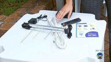Saiba como receber o kit para conversão do sinal digital - O desligamento do sinal analógico será em março e, para isso, está sendo realizada a distribuição de kits para a conversão ao sinal digital.