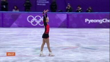 Isadora Williams erra na apresentação e se despede da competição na Coreia do Sul - Brasileira sofreu queda no final da patinação. Ela disse que falhou no primeiro salto e não conseguiu se recuperar.