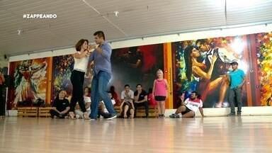 Parte 3: Pra fechar, tem também uma aula de dança com o grande Rodrigo Picanço - Parte 3: Pra fechar, tem também uma aula de dança com o grande Rodrigo Picanço