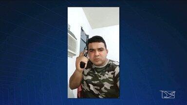 Homem é preso após ameaçar uma cidade do Maranhão por meio de rede social - Paulo Albuquerque da Silva tinha um mandado de prisão contra ele e foi preso em Teresina.