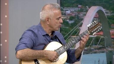 Veja a programação cultural para o fim de semana no DF - O doutor em viola caipira Roberto Corrêa está se despedindo da escola de música de Brasília, depois de 33 anos de dedicação. Na segunda-feira (26), ele faz um concerto de despedida no auditório da escola.