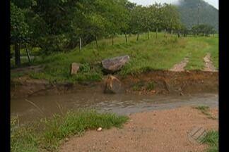 Comunidades do município Rio Maria, no Pará, ficam isoladas devido as fortes chuvas - Localidades rurais de Rio Maria sofre com as constantes chuva na região.