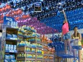 Supermercados abastecem estoques de ovos de Páscoa em Presidente Prudente - Preço não subiu em relação ao ano passado.