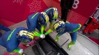 Jogos Olímpicos de Inverno: trenó brasileiro na disputa e o esquilo que quase morreu! - Jogos Olímpicos de Inverno: trenó brasileiro na disputa e o esquilo que quase morreu!