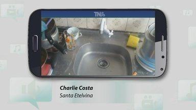 Morador denuncia falta de água no bairro Santa Etelvina, em Manaus - Denúncia foi enviada pelo Tô Na Rede.